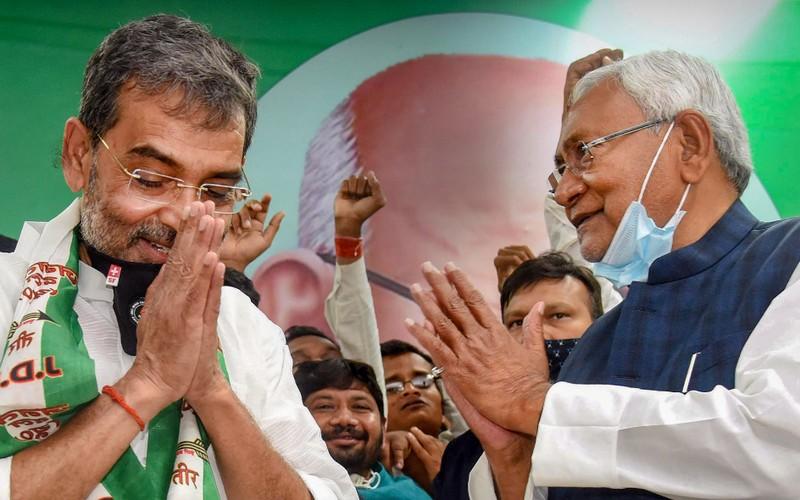 Kushwaha joins JD-U.