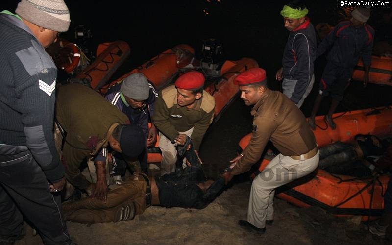Boat accident kills over two dozen people in Patna on Makar Sankranti.