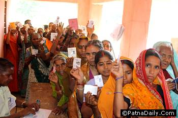 Caste-based elections in Bihar
