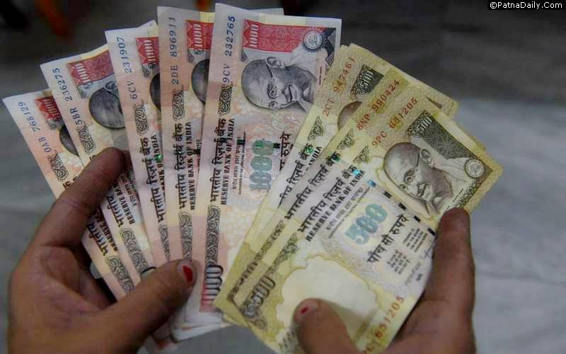Rs. 500 and Rs. 1000 bill banned in India to curb black money.