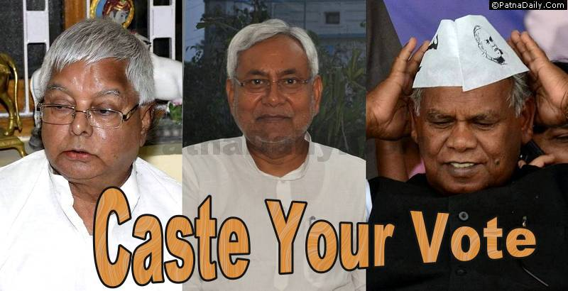 Caste-based politics in Bihar elections.