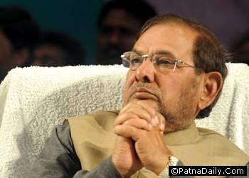 JD-U national President Sharad Yadav.