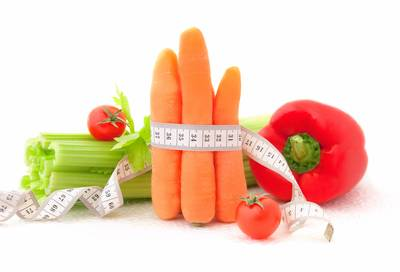 Eat more vegetables to keep weight in check.