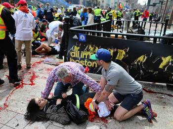 Boston Marathon Bombing, April 15, 2013