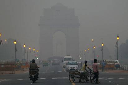 Pollution in New Delhi