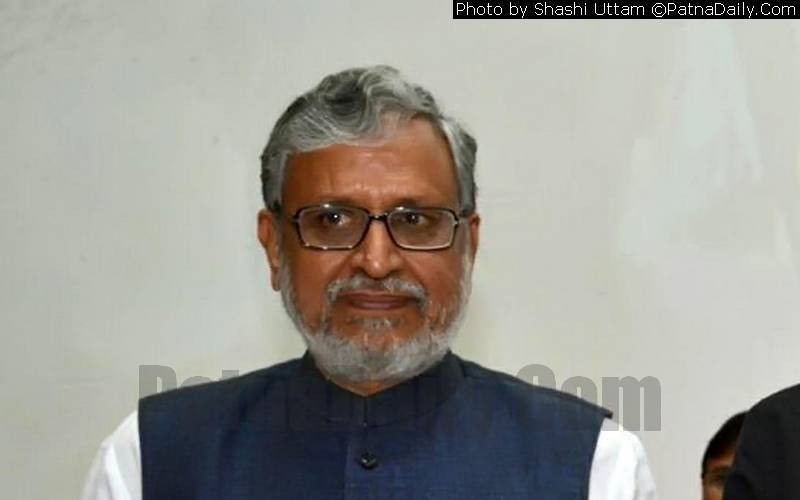 BJP leader and Bihary Deputy CM Sushil Kumar Modi (file photo).
