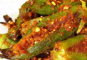 Achari Bhindi & Onion (Bhindi Kalonji)