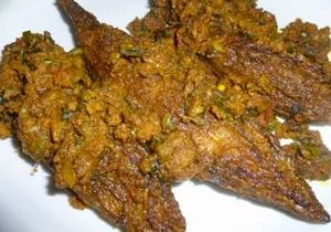 Bharwaan Karela (Stuffed Bitter Gourd)