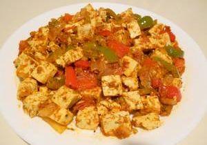 Capsicum (Bell Pepper) Tofu