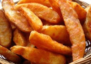 Oven-Fried Potato Wedges