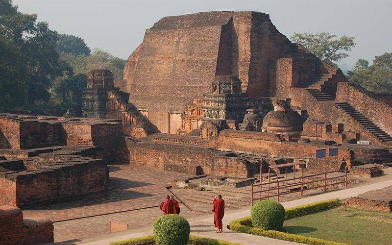 The ancient Nalanda University in Bihar.