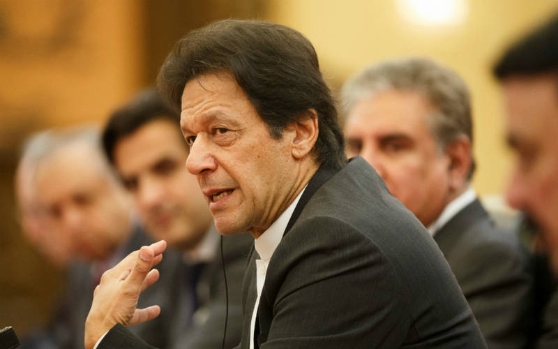 Pakistan PM Imran Khan.