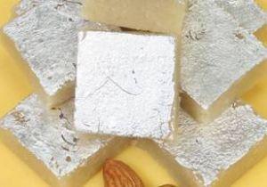 Kaju Badam Burfi (Microwave)