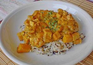 Mango Tofu Curry