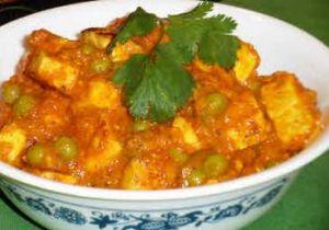 Matar Paneer (Resturant Style)
