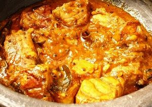 Fish in Sarson ka Masala